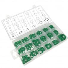 Набор зеленых уплотнительных колец 270 шт.